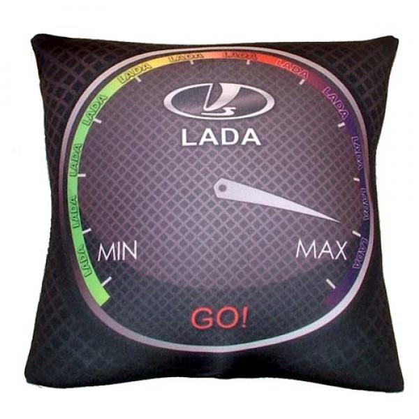 Автомобильная подушка антистресс LADA