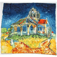 Платок Церковь в Овере. Винсент Ван Гог