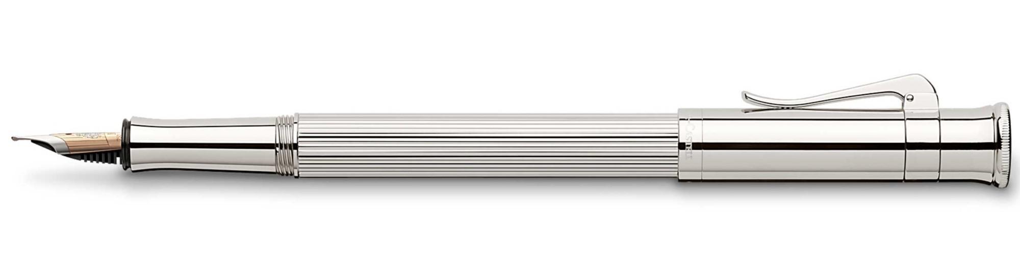 Перьевая ручка Graf von Faber-Castell Classic Platimun M