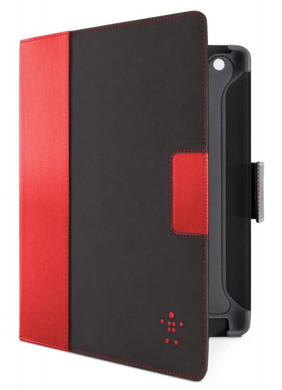 Чехол Belkin Folio для iPad3, красный/черный