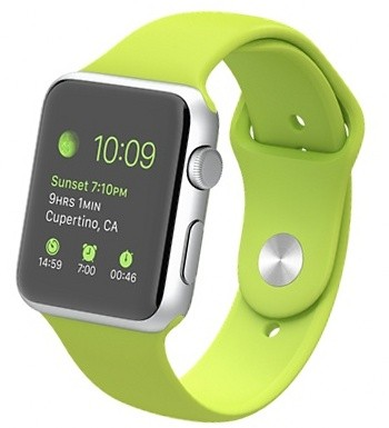 Apple Watch Sport 42mm with Sport Band (Green)