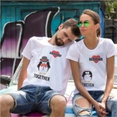 Парные футболки «Вместе навсегда»