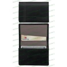 Черный кожаный футляр для визитных карточек Cross Legacy