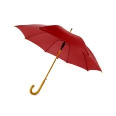 Полуавтоматический красный зонт-трость «Радуга»