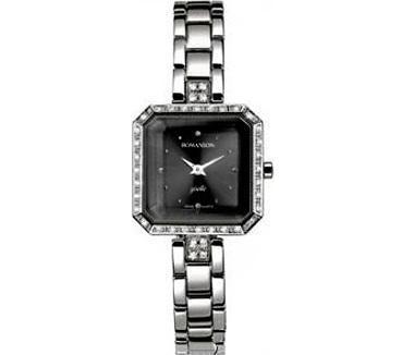 наручные женские часы ROMANSON RM 9221Q LW(BK)