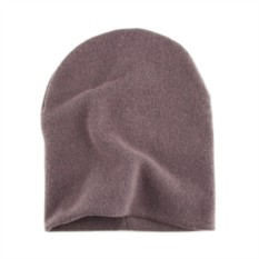Серо-фиолетовая шапка Brazgovka
