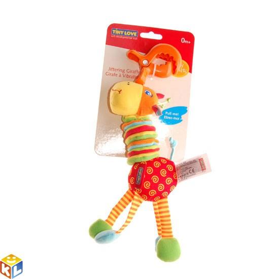 Подвесная игрушка с вибрацией Жираф Tiny Love