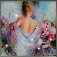 Картина с кристаллами Swarovski Соблазн