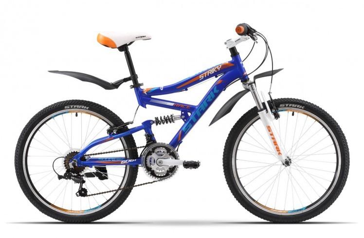 Подростковый велосипед Stark Striky (2016) Blue