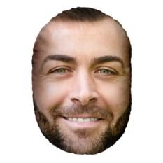 Подушка-голова с вашим фото «Он»
