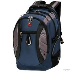 Серо-синий рюкзак Wenger Sport