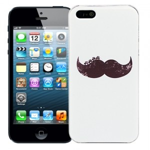 Чехол для iPhone 5/5s Painted moustache