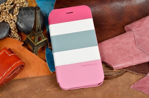 Кожаный чехол-книжка «Вечер в тропиках» для iPhone 6S / 6