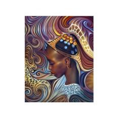 Алмазная вышивка «Африканский мотив»