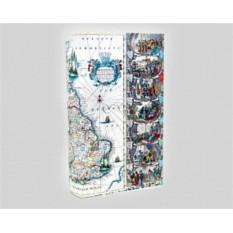 Книга-сейф «Путешествия вокруг света» маленькая