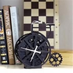 Часы в виде велосипеда Gear