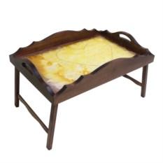 Столик для завтрака с фигурным бортиком В ожидании любви
