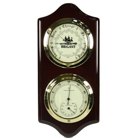 Метеостанция BRIGANT: термометр, барометр