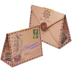 Подарочная упаковка с открыткой «Попутного счастья!»