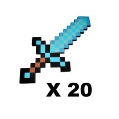 Набор алмазных мечей Майнкрафт