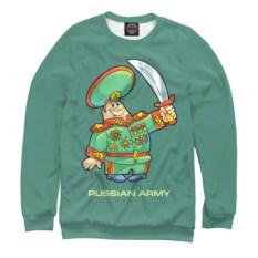 Свитшот Армия России. Генерал с саблей