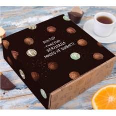 Набор шоколадных мелочей «Шоколада много не бывает»