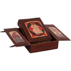 Книга Библия (в маленьком коробе иконостасе-складне)