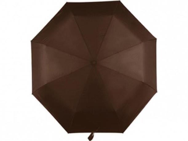 Автоматический коричневый зонт