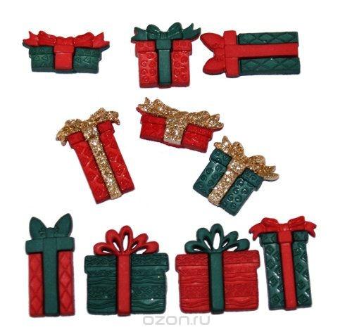 Набор пуговиц и фигурок Dress It Up Подарочные коробки
