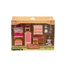 Игровой набор Village Story Детская комната девочки
