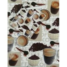 Бумажный ламинированный пакет Кофе