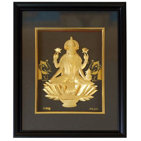 Картина из золота «Лакшми»
