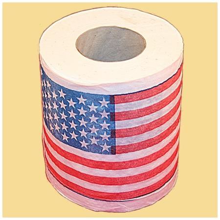 Бумага «Американский флаг»