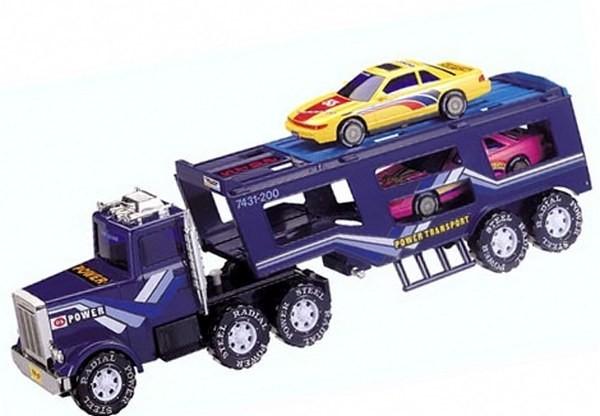 Игрушка Фиолетовая машина автовоз