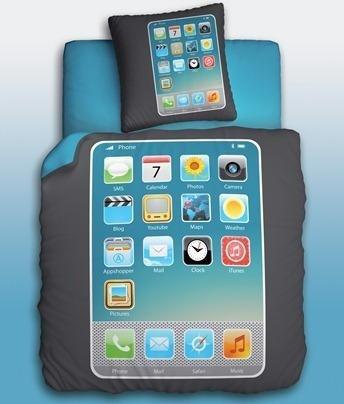 Комплект подросткового постельного белья My Phone