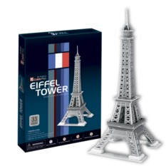 3D пазлы Cubic Fun Эйфелева Башня 2 (Париж)
