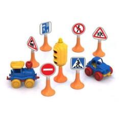 Набор Дорожные знаки №3 (Нордпласт)