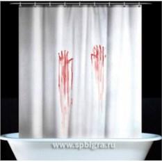 Кровавая занавеска для душа