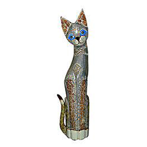Статуэтка «Кошка хвост трубой»