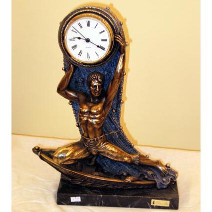 Подарок для рыбака часы 11