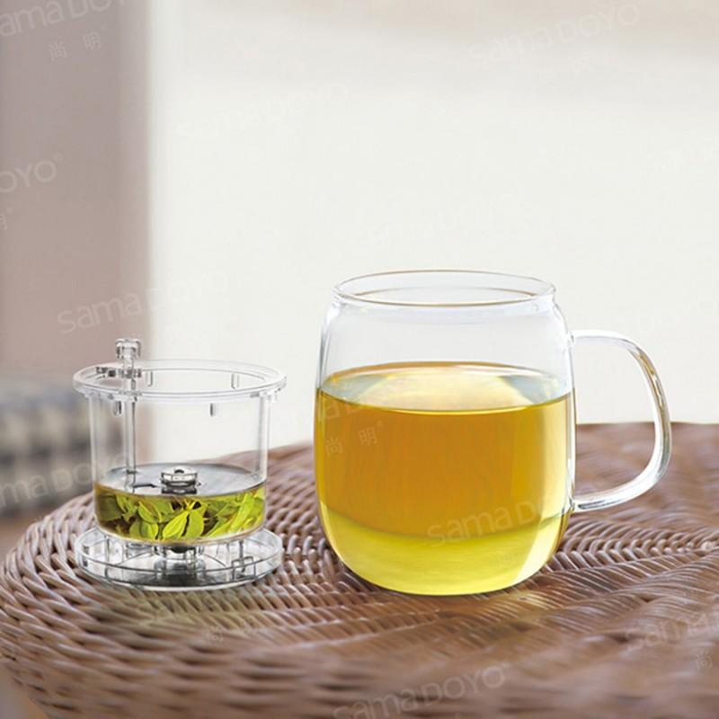 Кружка-чайник со съемным заварником Samadoyo