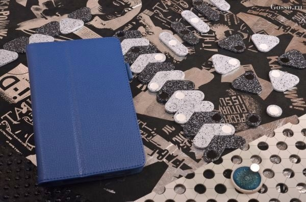 Чехол для iPad 5 / Air (тип книжка) «Синий флотер»