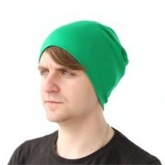 Зеленая шапка Brazgovka