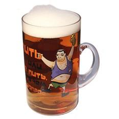 Кружка пивная Пить или не пить 1,8л