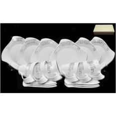 Чайный сервиз Lenardi серия Givenchi Platinum на 6 персон