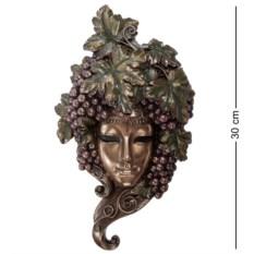 Венецианская маска Виноград (цвет — бронзовый)