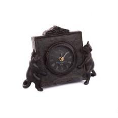 Настольные часы Котята