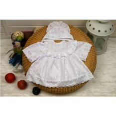 Платье и чепчик для крещения