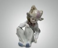 Фарфоровая статуэтка ''Арлекин''
