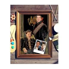 Парный портрет по фото Братья